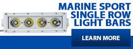 Marine HD Single Row LED Light Bars