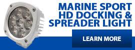 Marine HD White Spot Lights