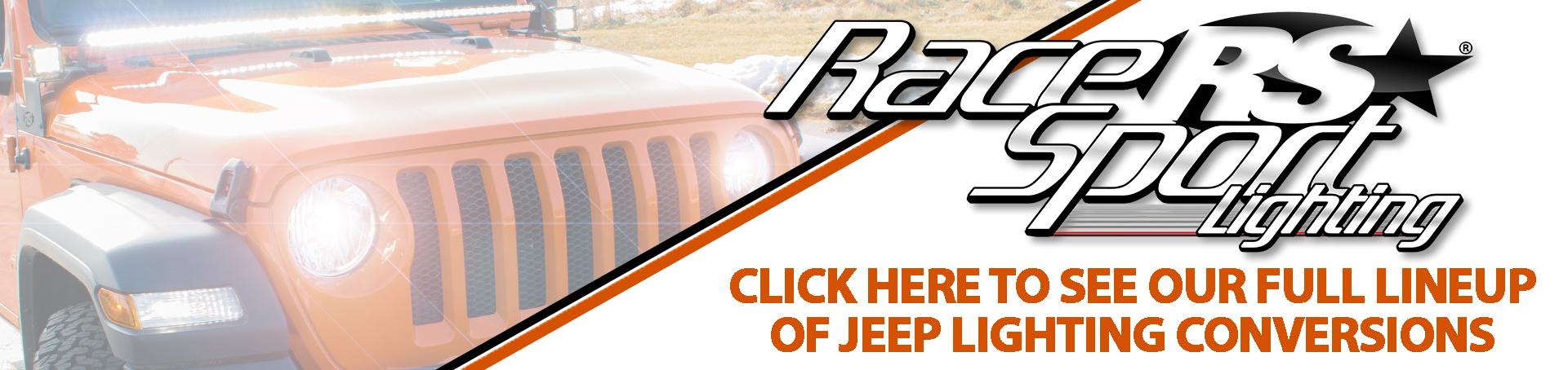 Jeep Lighting Conversion